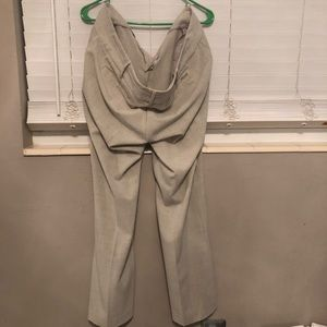 NY and Company Business Causal Cream Pants